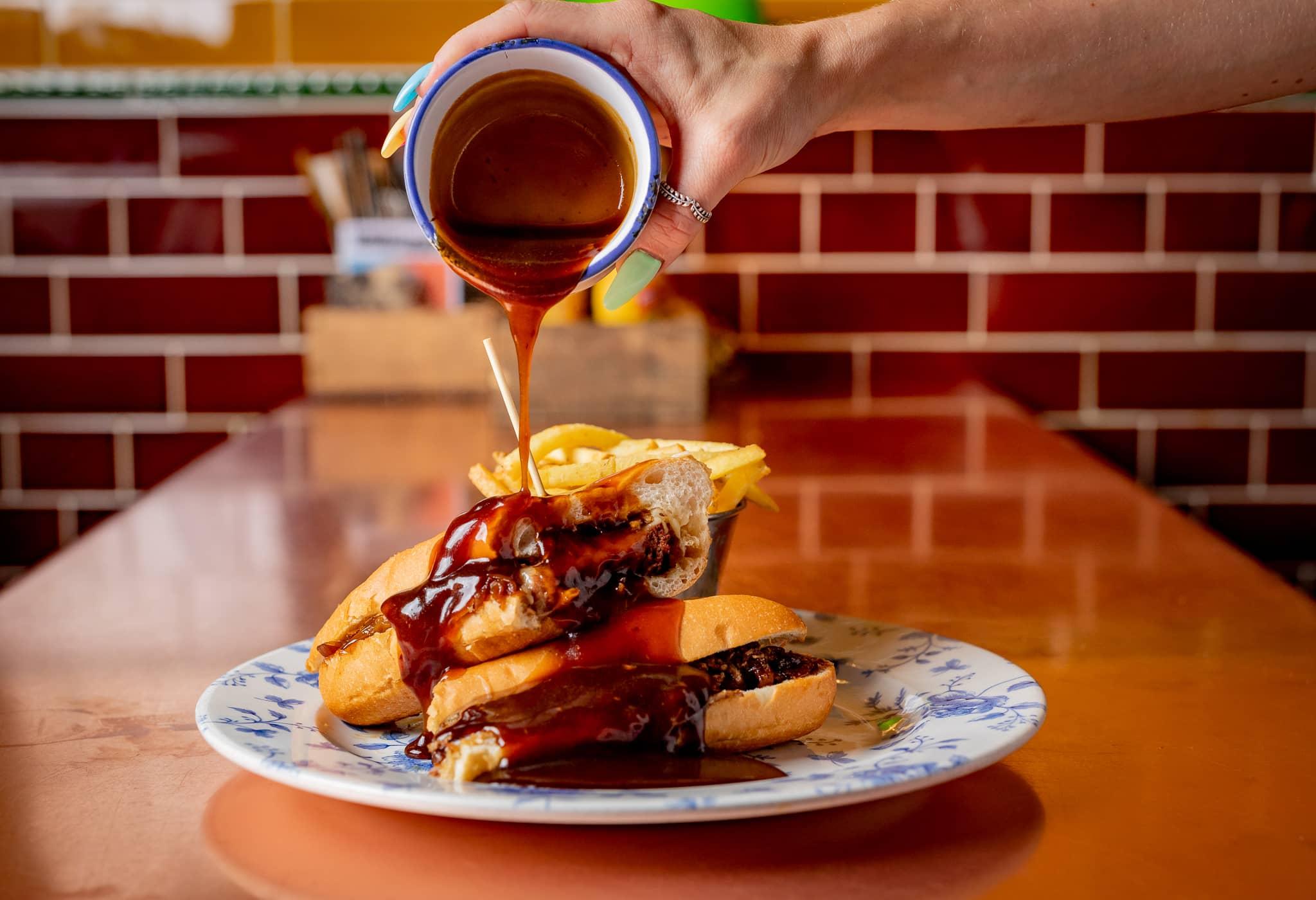 Sandwich & Fries Lunch Restaurant Camden