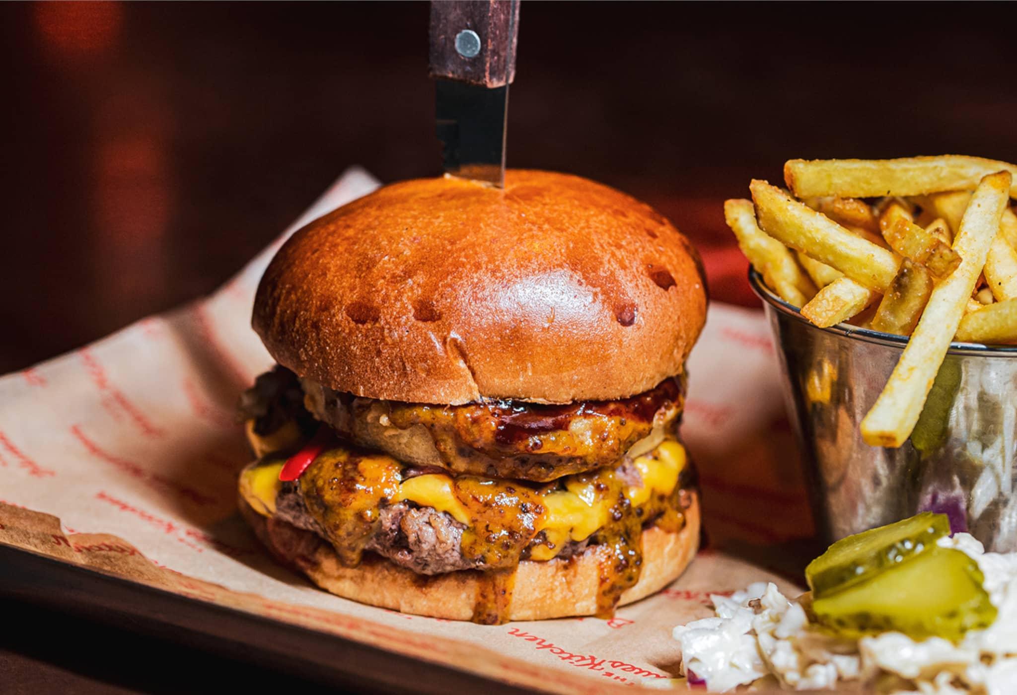 Burger & Fries Restaurant Shoreditch